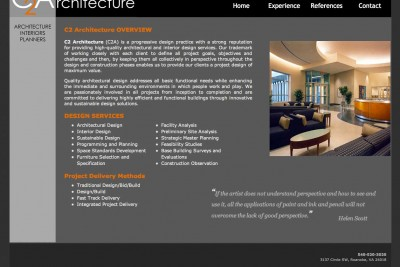 C2 Architecture Homepage