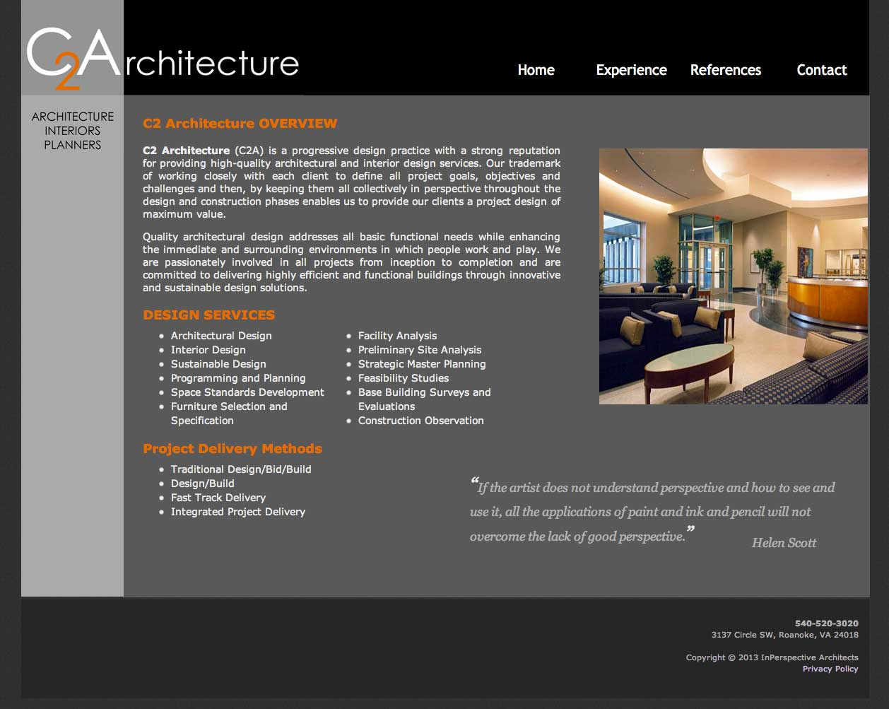 C2 architecture web development studiothought business for Architecture design websites free